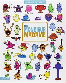 Amazon Fr Cherche Et Trouve Les Monsieur Madame Hachette