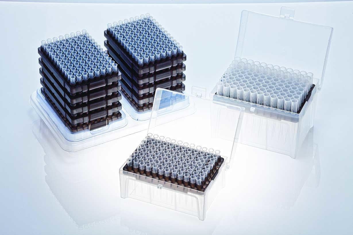 Sterile Pack of 960 tips 10 x 96 Stellar Scientific Teepa Tip 200uL Low-Retention Pipette Tip