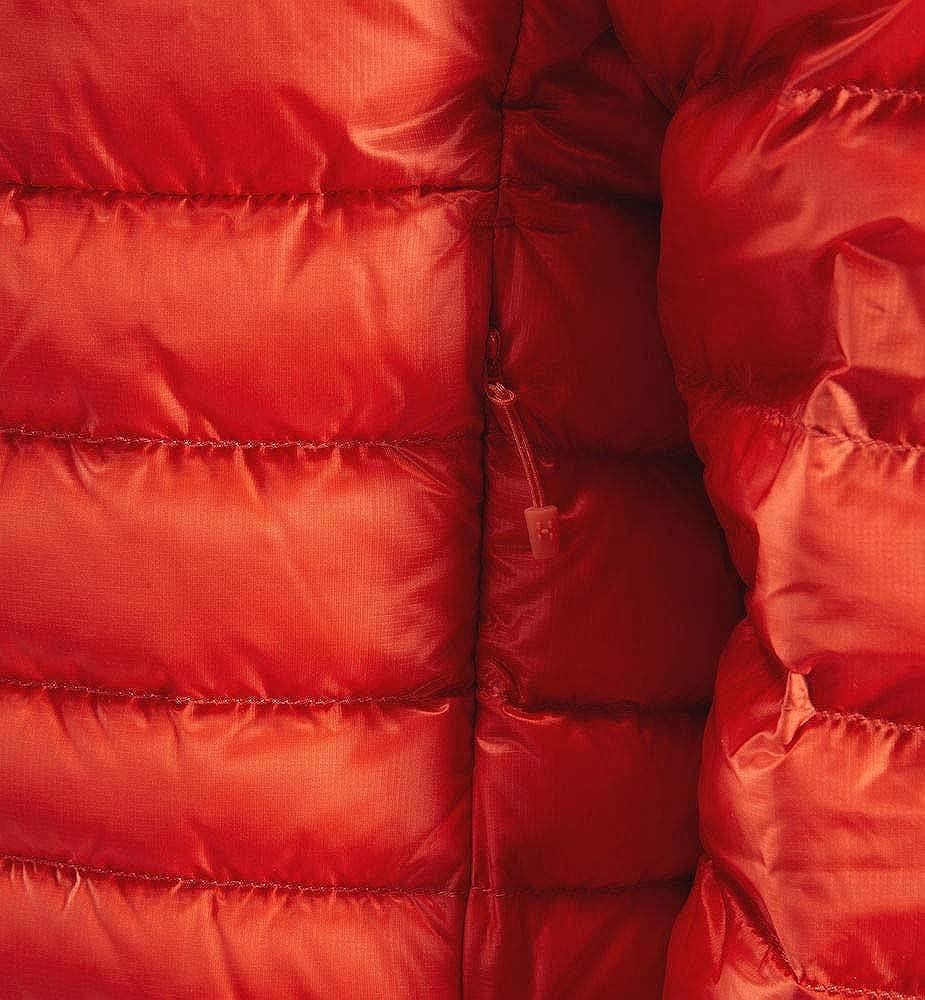 Haglöfs Men's Essens Down Hood Down Jacket Rouge (Habanero/Maroon Red)