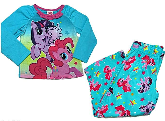 be5dd17ab Image Unavailable. Image not available for. Color: My Little Pony 2 piece  Pajama Set Long Sleeve / Pants ...