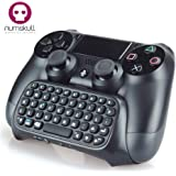 Numskull Playstation 4 PS4 Bluetooth Wireless Mini Keyboard / Chatpad