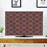 iPrint LCD TV dust Cover Strong Durability,Vintage,Retro Bohemic Arabic Ethnic Eastern Image