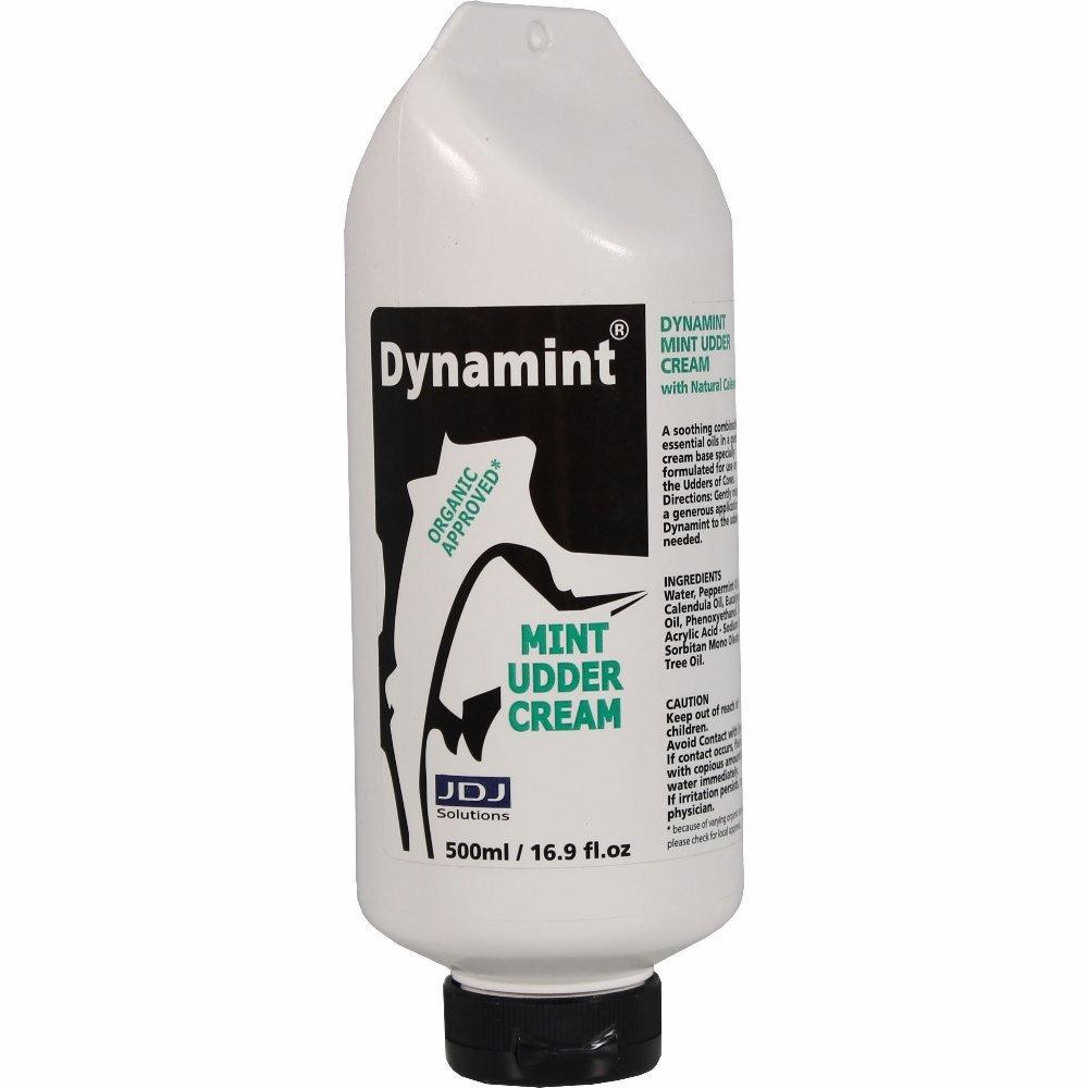 082058 Dynamint Mint Udder Cream Hang Bottle Mint