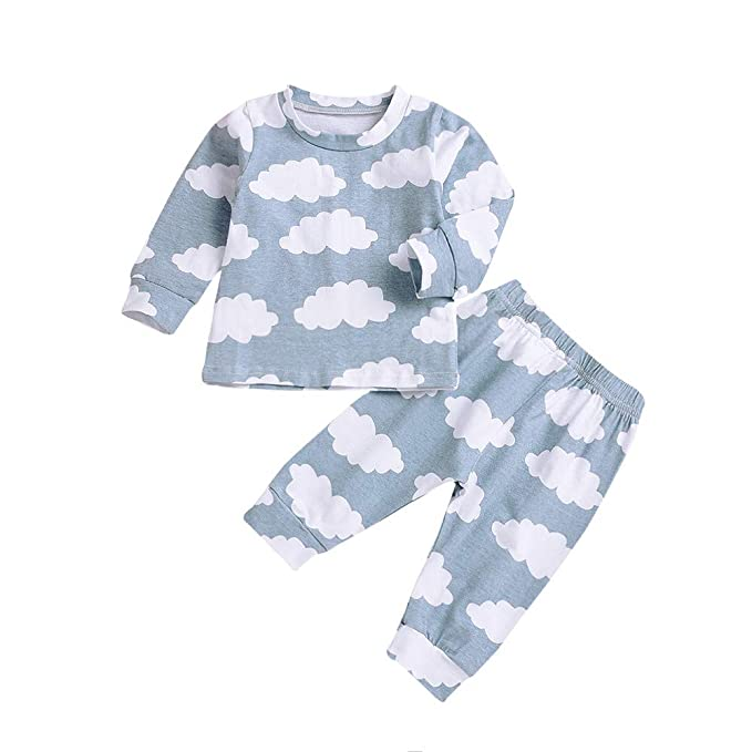 Conjuntos para Bebe niños niña Manga Largas Otoño 2018 Fiesta PAOLIAN Ropa de Camisetas y Pantalones