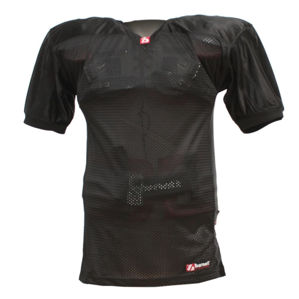 FJ-2 football jersey match, black barnett