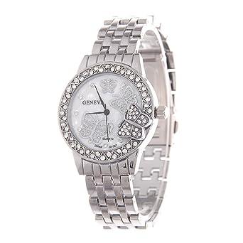 FIILIIP - Reloj de Pulsera para Mujer, diseño de Mariposas ...