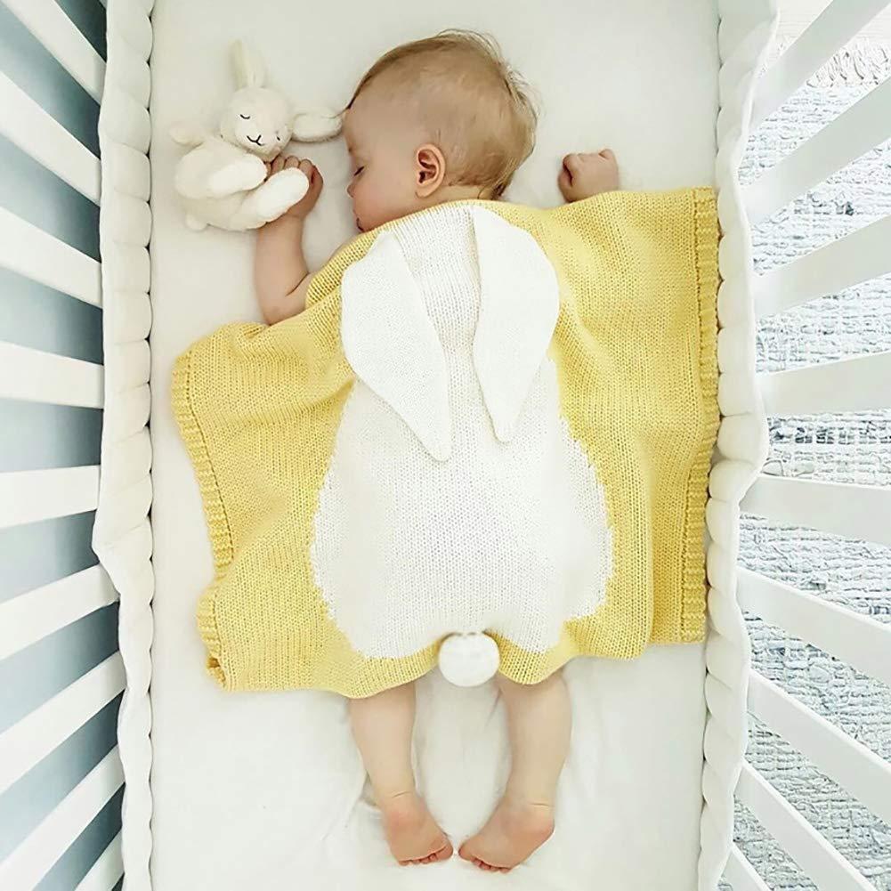 Hearts Color: Rosa Super suave y mullido acogedora favoritos techo para su beb/é 80 x 100 cm LULANDO Baby manta para gatear de algod/ón 100/%