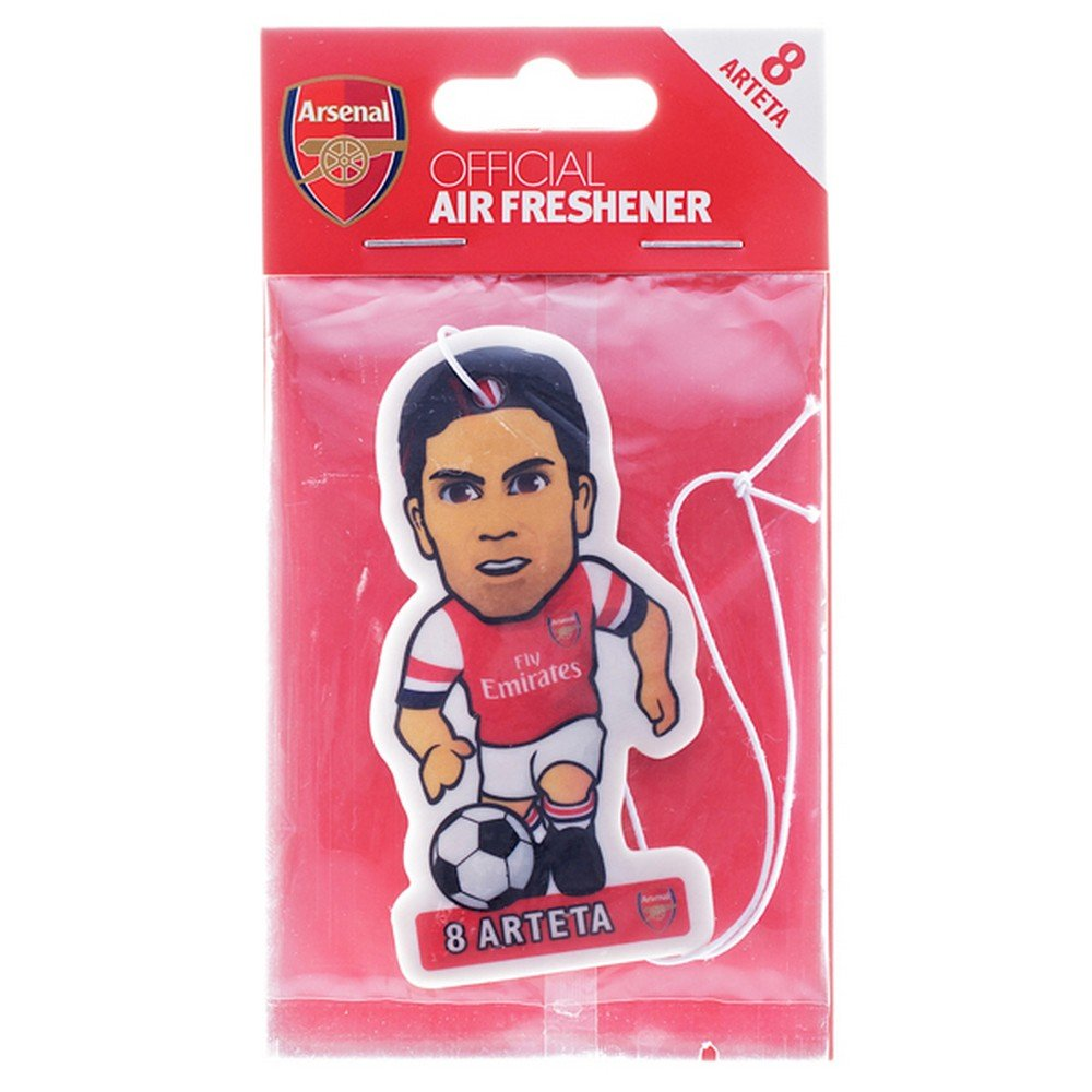 Football Gift Arsenal Fc Mikel Arteta Car Air Freshener Officially Licensed