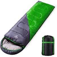 Queta Sac de Couchage Imperméable et Léger avec Sac de Compression pour Le Camping, La Randonnée en Plein air