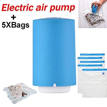 Amazon.com: ALXiiii Mini Automatic Compression Vacuum Pump ...