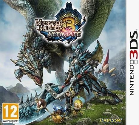 Monster Hunter 3 Ultimate [PEGI]: Amazon.es: Videojuegos