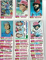 St Louis Cardinals/ Complete 1982 Topps Baseball Team Set with 28 Cards! 1982 World Series Champs!!