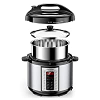Deals on Elechomes Electric Pressure Cooker 6 Qt