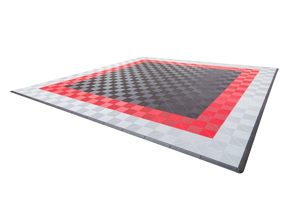 Dodge Double Car Parking Pad by Ribtrax - Design 1