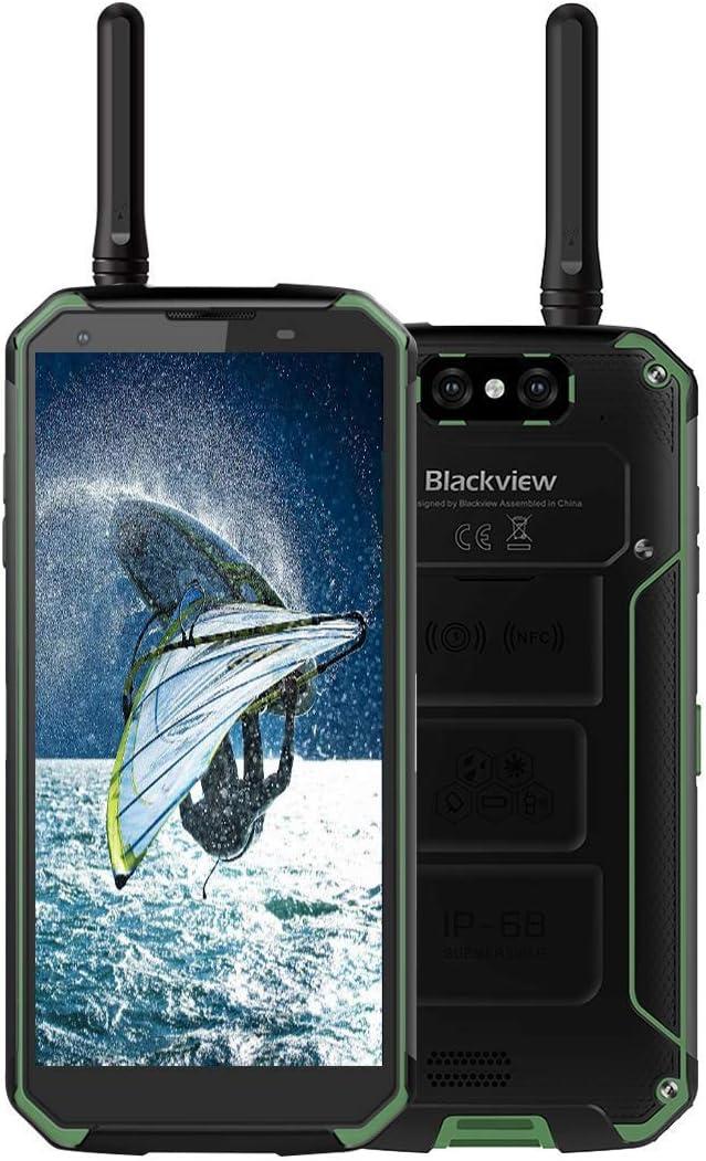 Blackview Bv9500 Pro Walkie Talkie 10000mah Schnellladeakku Ip68 Ip69k Wasserdicht Stossgesichert Android 8 1 Smartphone 5 7 18 9 Full Hd Bildschirm 2 5ghz Octa Core 6gb 128gb Grun Amazon De Elektronik