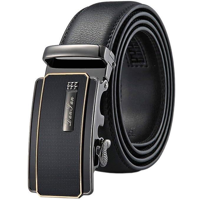Cinturón De Cuero Para Cinturón Hombre Hebilla Regalos De ...