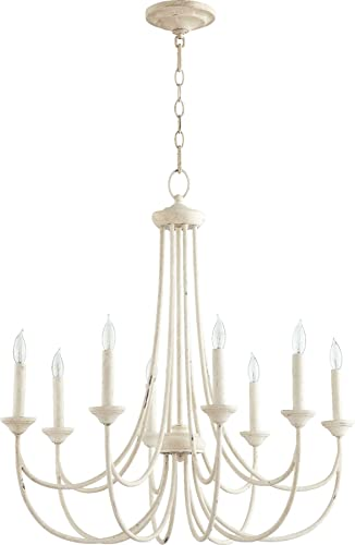 Quorum International Brooks 8-LT Candle Chandelier