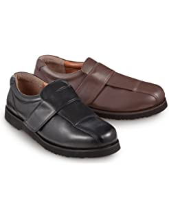 ae26d0d08abb5 ROAMERS Extra Wide Touch Fastening Casual Shoes Mens: Amazon.co.uk ...