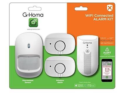 GAO emw302wf de HS g de Homa Mini de Alarma Kit Incluye Recepción Dispositivo con función