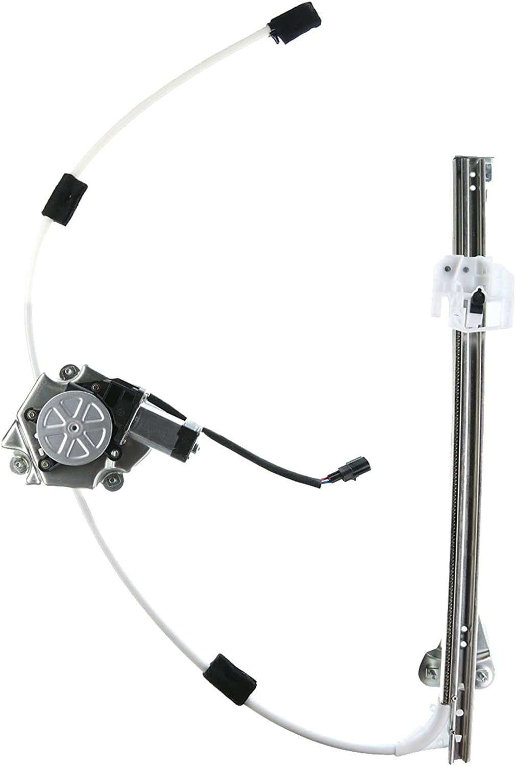 A-Premium Power Window Regulator with Motor Replacement for Jeep Liberty 2006-2007 Hole Style Rear Right Passenger Side