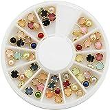 Binmer(TM)5mm Nail Art Sticker Tip Decal 3D Acrylic Glitter Rhinestones Manicure Studs Nail Tips DIY