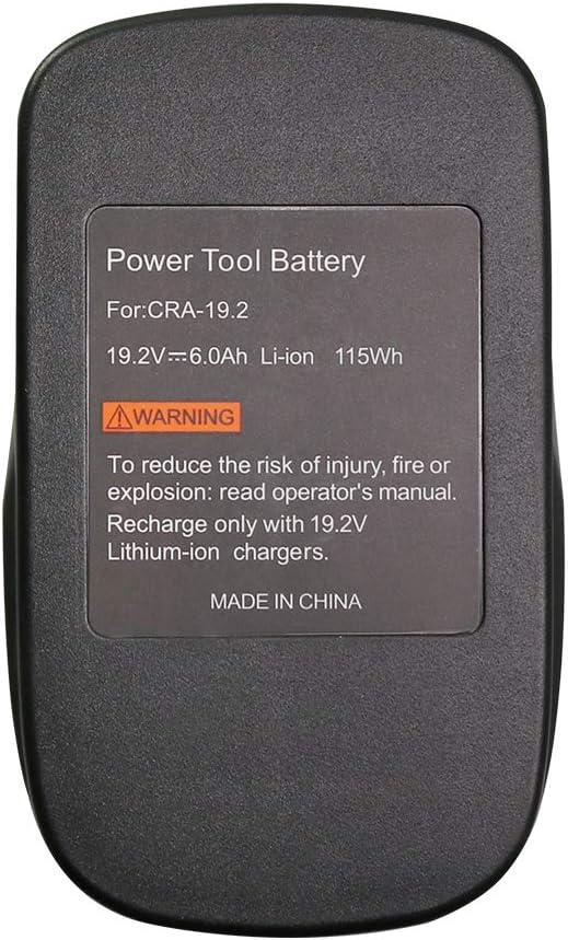 19.2 Volt Replacement Lithium Battery for Craftsman DieHard C3 ...