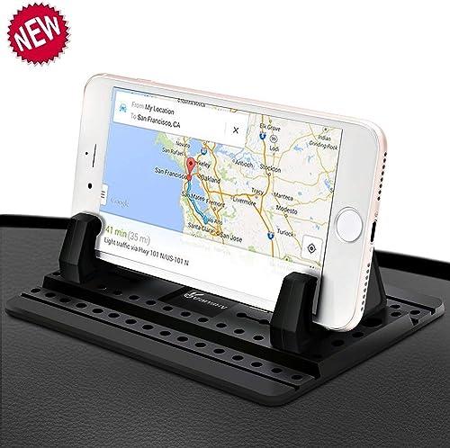 Car Phone Holder, Vansky Car Phone Holder Silicone Dashboard Holder