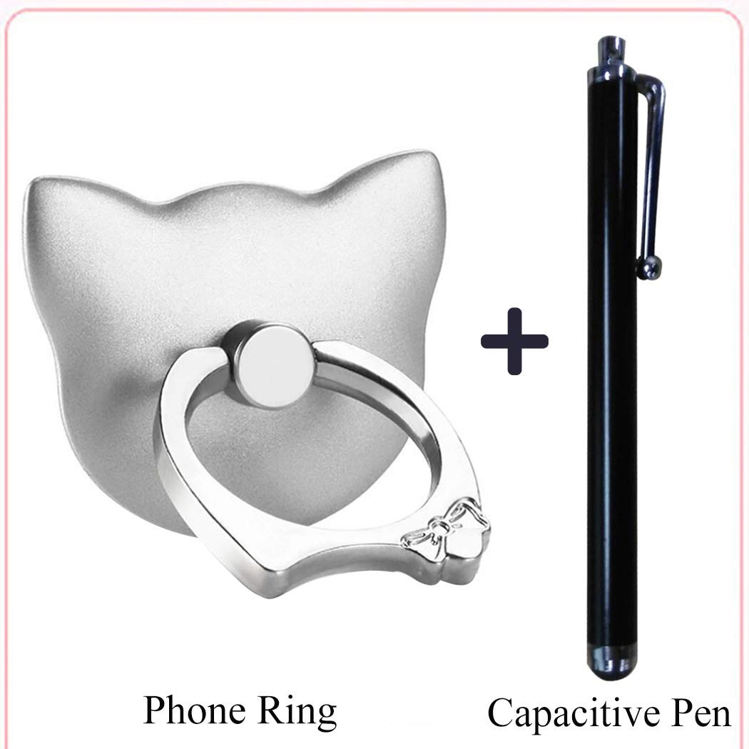 bangcool Universal Self-Adhesive Cartoon Phone Ring Holder Stand for Smart Phone and Capacitive Pen