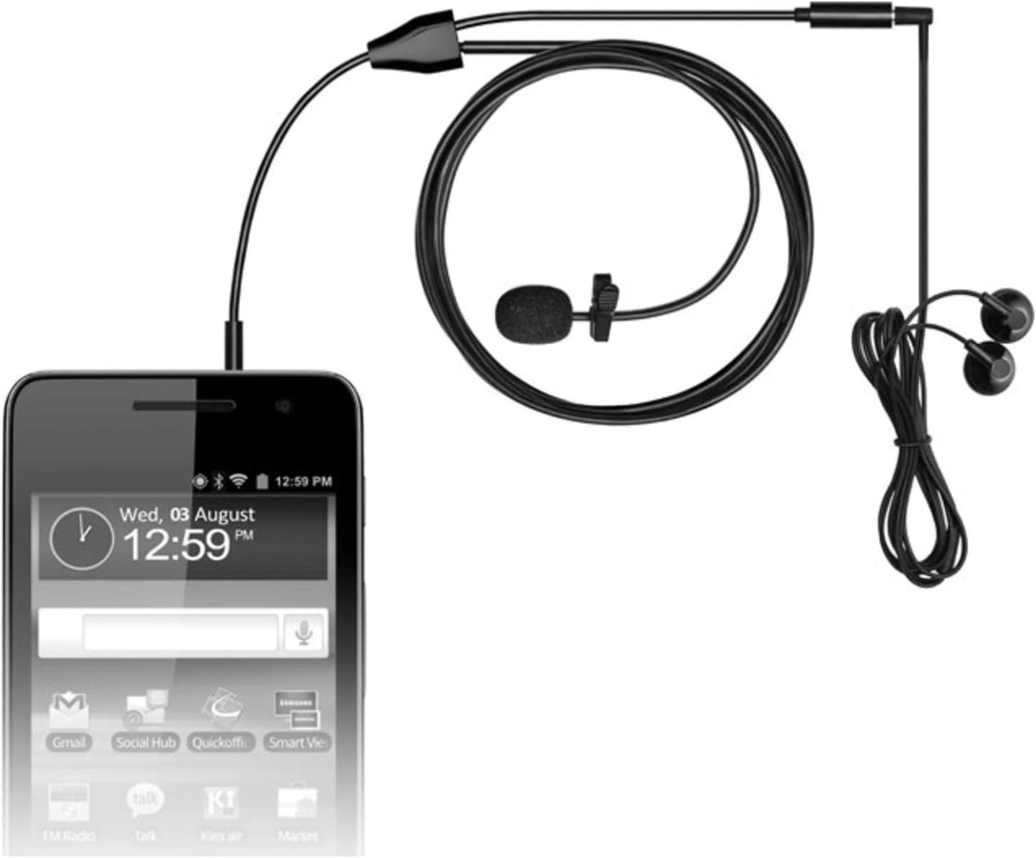 Pair of MXL MM-160 Omni-Directional Lavalier Microphones for Cell Phones and Tab