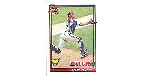 SANDY ALOMAR ROOKIE CARD - 1991 TOPPS ALL-STAR ROOKIE BASEBALL CARD  165  (CLEVELAND INDIANS) FREE SHIPPING at Amazon s Sports Collectibles Store 5eaf256e1010