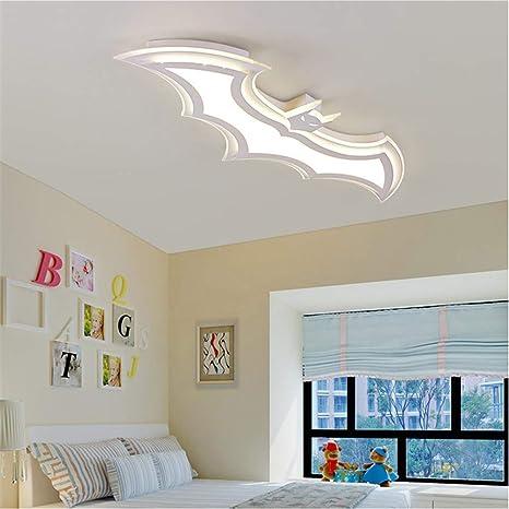 RUNNUP Modern Dimmable Ceiling Light Fixture Batman Design 37.4\
