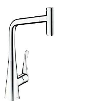 Amazon.com: Hansgrohe Metris Select Kitchen Sink Mixer Tap With ...