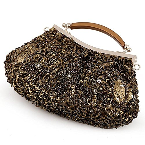 Banquet Bridesmaid Fashion Bag WenL Bag Beaded Evening Portable Clutch AAqRzg