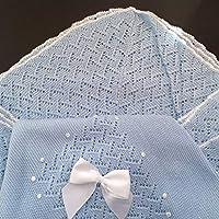 Toquilla bebé verano,color azul (HC Enterprise-A): Amazon.es: Bebé