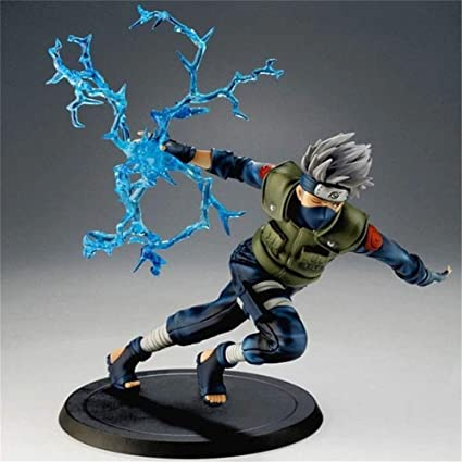 Anime Gifts for Home Office Decor Action Figure Statue JUST FUNKY Naruto Shippuden Collectible PVC Plastic Bobblehead Desk Toy Accessories 4.75 Inches Tall