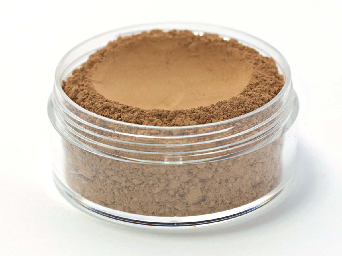 Vegan Mineral Wonder Powder Foundation - Shade ''Mocha'' medium/dark with neutral undertone