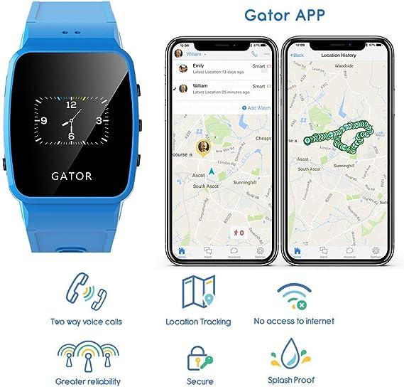 Reloj inteligente SmartWatch Gator de Techsixtyfour para niños ...