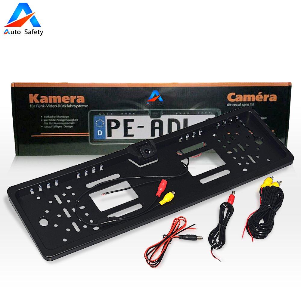 Auto Safety Rückfahrkamera European Nummernschild / Kennzeichen ...