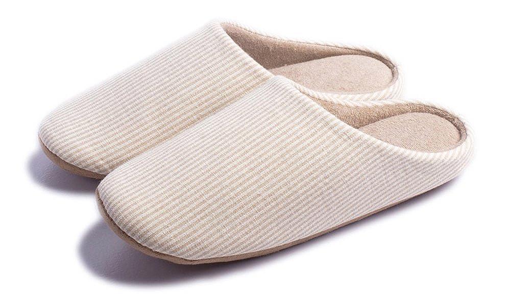 Lijeer Indoor Slippers Soft Bottom Home Autumn Winter Memory Foam Wood  Floor Couple Cotton Men Women Warm Non-Slip: Amazon.ca: Shoes & Handbags