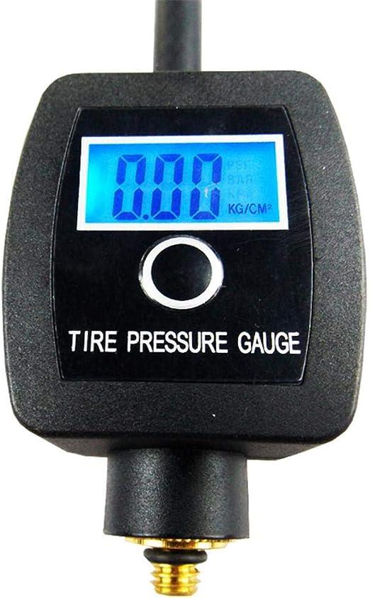 Tire Gauge Medidor Digital De Presión Neumáticos, Motocicleta del ...