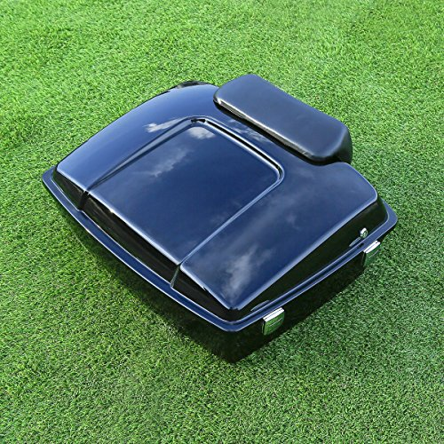 XMT-MOTO Chopped Tour Pak Pack Trunk with Backrest, used for sale  Delivered anywhere in USA