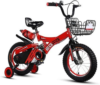 JINHH Bicicleta Deportiva, Bicicleta para Niños, Niñas, Niños ...