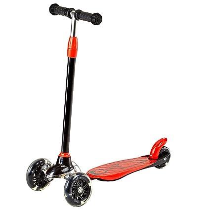 LVZAIXI Patinete de tres ruedas para niños - Perfecto para niños de +5 años de