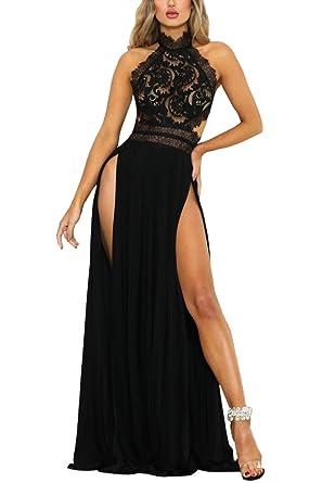 Amazon kleider lang schwarz
