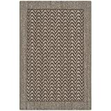 Safavieh Palm Beach Collection PAB321D Silver Sisal & Jute Area Rug (2' x 3')