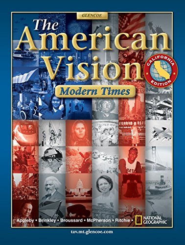 The American Vision California Edition: Modern Times (The American Vision Modern Times California Edition)