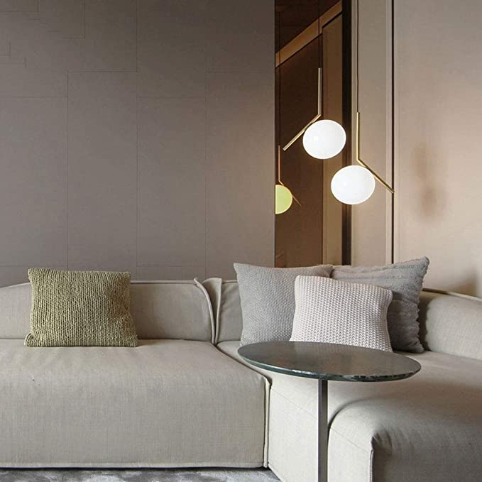 Amazon.com: Rishx - Lámpara de techo de metal LED moderna ...