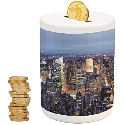 IPrint New York Cans Cute Money Boxesfor Party Decor Girls Kids Children Adults