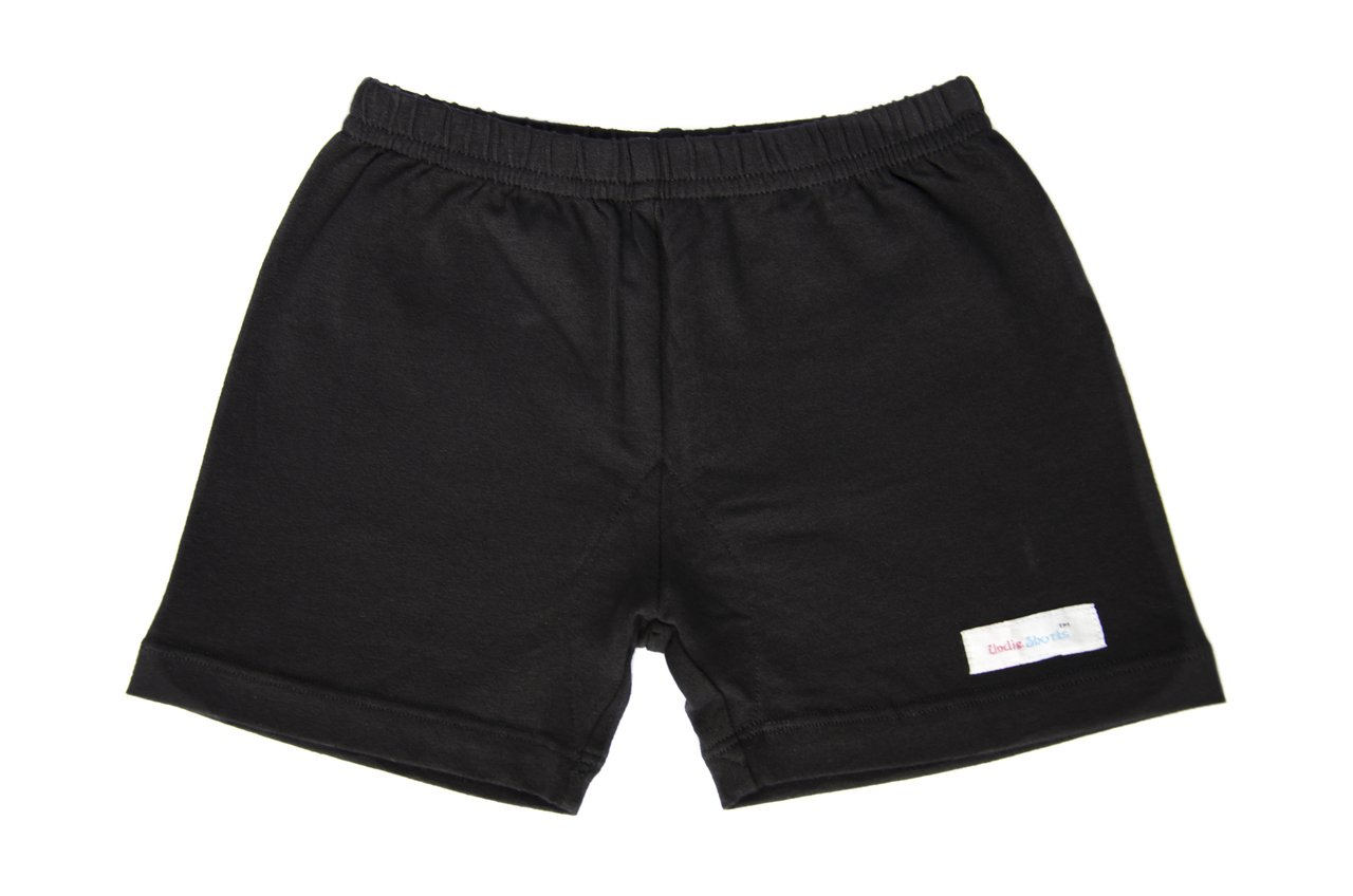 Big Girls All in One Under Shorts - Black - 10
