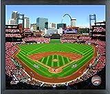 """Busch Stadium St. Louis Cardinals MLB Photo (Size: 12"""" x 15"""") Framed"""